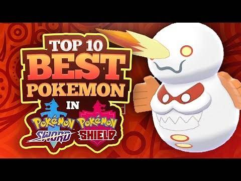 Top 10 Best Pokemon in Sword and Shield