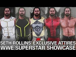 WWE 2K18 Showcase: Seth Rollins' Awesome Exclusive PPV Attires!