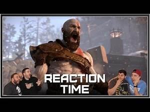 God of War - E3 2016 Gameplay Trailer - Reaction Time!