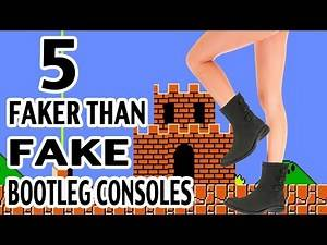 5 Ridiculous Bootleg Video Game Consoles You Won't Believe are REAL Part 1