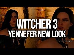 Witcher 3 DLC 2 - Alternative Look for Yennefer