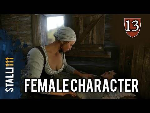►Kingdom Come: Deliverance   Female Playable character/Protagonist