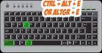 Type the (€) Euro sign or symbol on keyboard (windows) - come fare sinbolo dell'euro