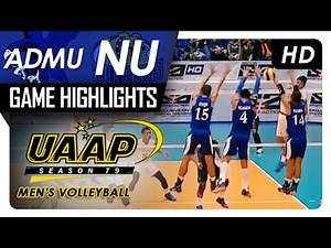 ADMU vs NU | Game Highlights | UAAP MV | February 8, 2017