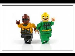 LEGO MARVEL iron fist and power man