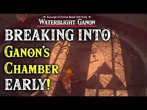 BREAKING INTO Ganon's Chamber EARLY! Getting to the Bottom of Zelda Breath of the Wild Sequel