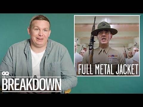 US Marine Breaks Down Military Movies   GQ