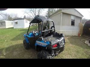 polaris ace 570 snorkels and airbox mod