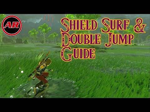 How To Double Jump By Shield Surfing In Breath Of The Wild | Tips