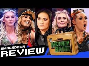 REVIEW-A-SMACKDOWN 5/30/17: Women's MITB announced, Dolph Ziggler pins AJ Styles, New Day return