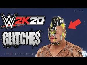 WWE 2K20 GLITCH COMPILATION