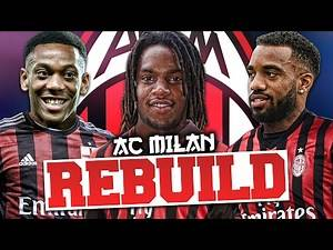 REBUILDING AC MILAN!!! FIFA 17 Career Mode