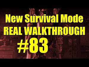 Fallout 4 Survival Mode Walkthrough Part 83 - Tactical Thinking (Point of No Return for Railroad)