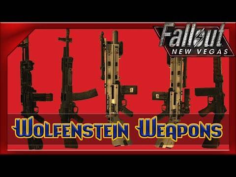 Wolfenstein Weapons Pack | Fallout New Vegas Mods