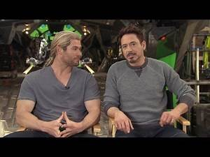 Behind the Scenes on Set of 'Avengers: Age of Ultron'