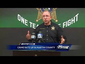 Crime Rate Up In Martin County