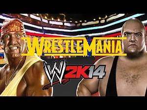 WWE 2K14 Hulk Hogan vs King Kong Bundy - 30 Years of Wrestlemania