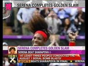 Olympics 2012: Serena Williams beats Maria Sharapova to win gold medal - NewsX