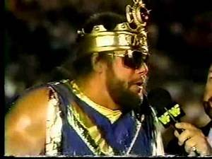 Mean Gene Okerlund interviews Macho King about Royal Rumble (01-07-1990)