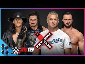 Extreme Rules 2019: Undertaker & Reigns vs. McMahon & McIntyre – No Holds Barred: 2K19 Match Sims