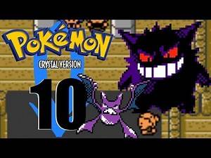 Pokemon Crystal Ep 10 Defeating the ghost gym leader Morty!