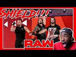 SHIELD REUNITE AND PREVENT BRAUN FROM CASHING IN!!! - RAW - REACTION