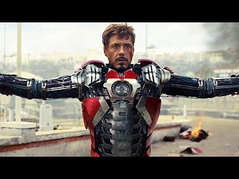Iron Man All Suit Up Scenes (2008-2019) Robert Downey Jr. Movie HD [1080p]
