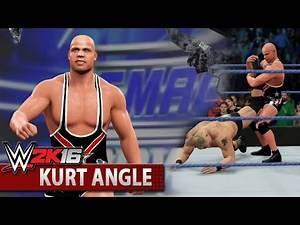 WWE 2K16 Community Showcase: Kurt Angle (PlayStation 4)