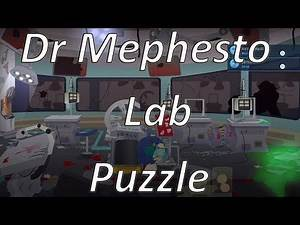 South Park: The Fractured but Whole (Dr. Mephesto's Lab Puzzle)