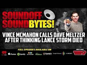 Why Vince McMahon Once Thought LANCE STORM Died!