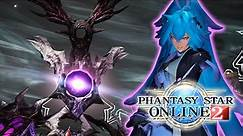 Final Battle: The Space-Time Rift - Fo/Et Gameplay (PSO2)
