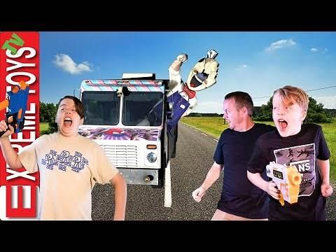 The Return of Rod the Ice Scream Man! Ultimate Ice Cream Family Battle Game!