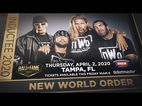 WWE Hall of Fame 2020: The NWO Inductee - Video Tribute