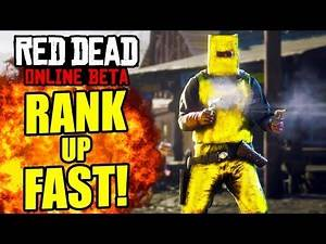 REACH LEVEL 100 EASY! HOW TO RANK UP FAST Red Dead Online! Red Dead Level Up Fast Tips and Tricks!