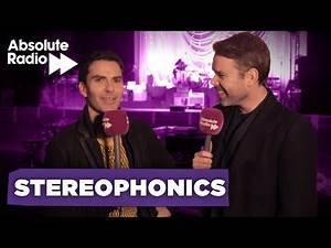 """Stereophonics - """"Liam Gallagher rugby tackled Nicky Wire!"""""""