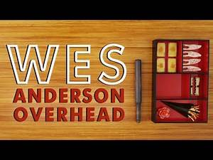 All Wes Anderson's God's Eye View Shots in Chronological Order