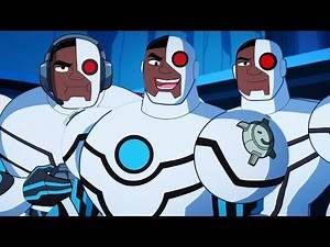 Justice League Action   Top 5 Cyborg Moments   DC Kids