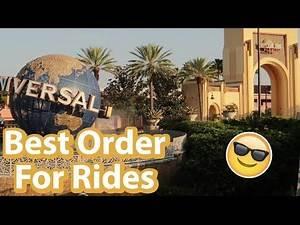 Ride Order Tips and Tricks For Universal Studios