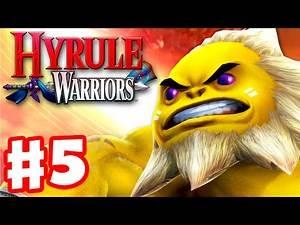 Hyrule Warriors - Gameplay Walkthrough Part 5 - Sheik in Death Mountain! Darunia Boss! (Wii U)
