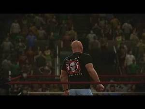 Bret Hart vs. Hulk Hogan Guest Ref: Stone Cold (WrestleMania 1) WWE 2K14