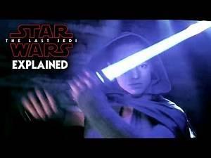 Star Wars The Last Jedi Deleted Scene Explained!