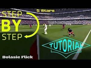 FIFA 16 NEW SKILL MOVES TUTORIAL!! (INCLUDING FLICK UP FOR SHOT & NO TOUCH DRIBBLING)