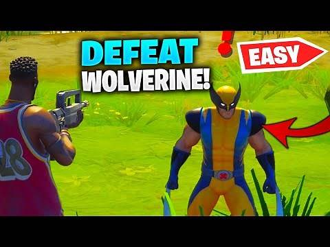 How to Defeat Wolverine in Fortnite (Defeat Wolverine Location)