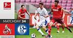 1. FC Köln - FC Schalke 04   1-0   Highlights   Matchday 34 – Bundesliga 2020/21