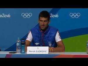 Tennis world number one Djokovic aims for Olympic gold