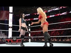 Charlotte vs. Paige – Divas Championtitel Match: WWE TLC 2015