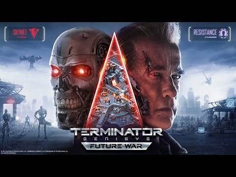 Official Terminator Genisys Future War (by Plarium) Launch Trailer (iOS / Android)