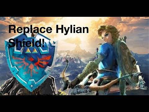 How To REPLACE Hylian Shield in Breath of the Wild! (Tutorial)