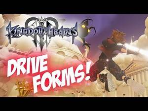 Kingdom Hearts 3 Drive Forms Return! Guard Form & Power Form! Thor? Wreck-It Ralph?