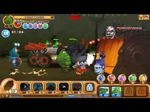Halloween Games 2016 | Larva | Hell | Episode 2 | So hard to win strong Boss